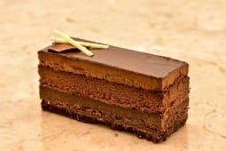 Fatia Bolo 100% Chocolate