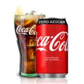 161. Coca-Cola Zero Azúcar lata 330ml.
