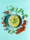 Крем-суп із зеленим горошком (300г)