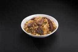 Смажений рис з яловичиною (300г)