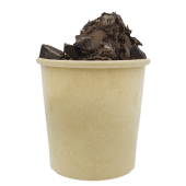 Geláto cremoso con Chocolate Light (12 oz,)