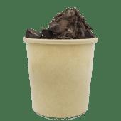 Geláto cremoso con Chocolate Light (12 oz,)