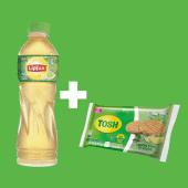 Lipton (400 ml.) + galleta Tosh