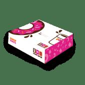 12ც  დონატის ყუთი / Box for 12 Donuts