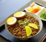 Porc mijoté au riz