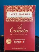 """10 Capsule Caffè Napoli """"Cremoso""""compatibili Nespresso"""