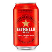 Cervesa Estrella Damm (330 ml.)