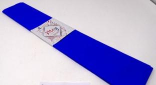 Papel Crepe Azul Fuerte 50Cmx200Cm