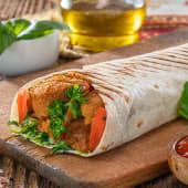 Kanapka Falafel z hummusem