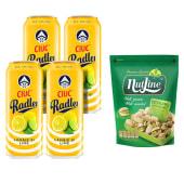 4X Ciuc Radler Lamaie si Lime 1.9% alcool+Nutline fistic prajit