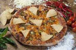 Pizza tex mex (30 cm.)