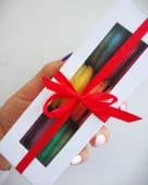 Подарункова упаковка макаронс (5шт)