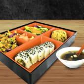 Bento box de pollo teriyaki