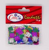 Confeti 14Gr Regalos 13X14Mm Ref.050-0078
