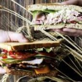 Сендвіч з шинкою і беконом (350г)