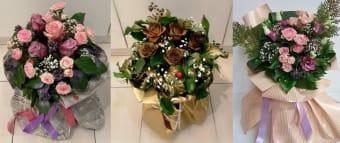 Buket mix ruža i cvijeća L