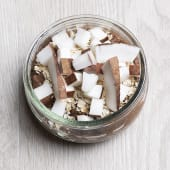 Chía de chocolate y coco