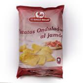Patatas Sabor Jamón El Gallo Rojo (150 G.)