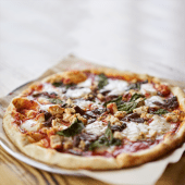 Pizza carbonara (grande)