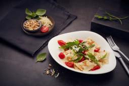 Ravioli con ricotta e spinaci