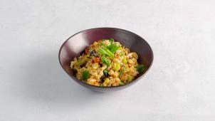 Рис жареный с креветками 330 г.