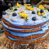 Blue Lemonade Cake