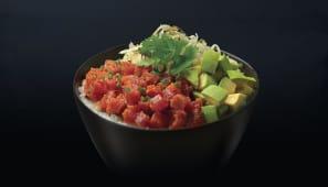 Poke bowl tonno piccante
