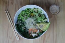 Karma bowl by Xuan Lan (vegano y sin gluten)