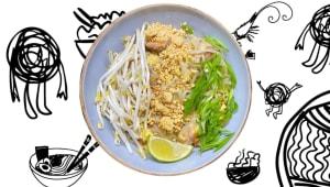 Локшина Pad Thai з куркою (400г)