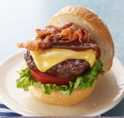 Porky Burger Bbq