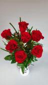 Buchet 7 trandafiri rosii