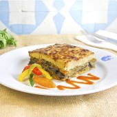 Moussaka vegetariana (280 g.)