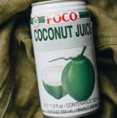 Натуральний тропічний напій зі смаком кокосу