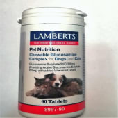 Complejo de glucosamina masticable(90 tabletas)Lamberts Española, S.L.