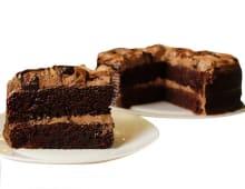 Torta de chocolate mediana (25 porciones)