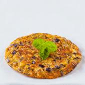 Tortilla de patatas con jamón serrano y setas (grande)