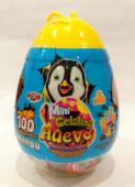 Mini gelatina bote huevo