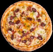Піца Double начинка Баварська (585г/30см)