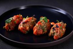 Салат з печених овочів аджапсандал (200г)