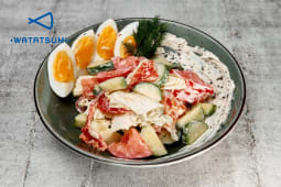 Овочевий салат з яйцем (220г)