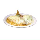 Burrito gratinado mixto