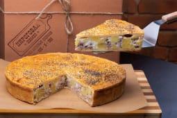Пиріг з телятиною, картоплею та соусом бешамель (150г)
