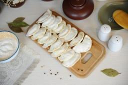 Вареники заморожені з картоплею Дитячі