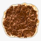 Pizza con nutella Ferrero