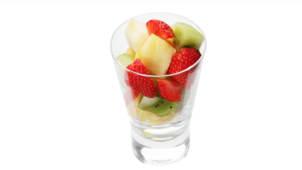 Fruits frais découpés