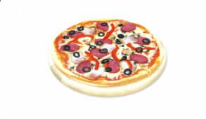 Піца Салямі де Олива