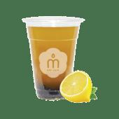 Bubble tea  Water lemon