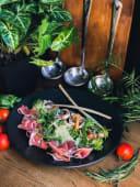 Салат з прошутто