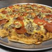 Pizza vegetariana Frankfurt
