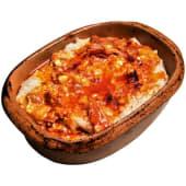 Kačamak sa starim sirom (sa grilovanom slaninicom i alevom paprikom)